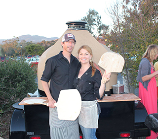 Chris and Gretchen Rogers - Owners of Fire and Wine Catering